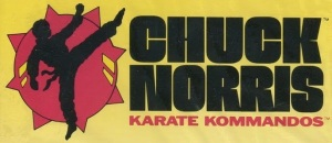 chuck norris karate kommandos LOGO