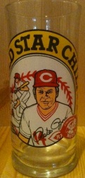 Pete Rose Drinking Glass