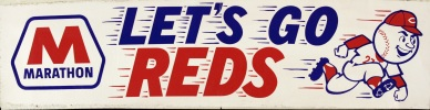 Reds Bumper Sticker