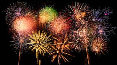 Fireworks go boom
